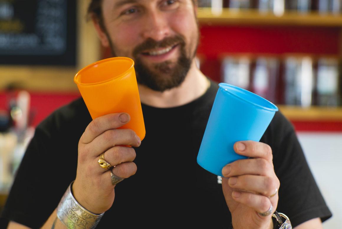 Shrewsbury gets a coffee buzz from a deposit-return cup scheme